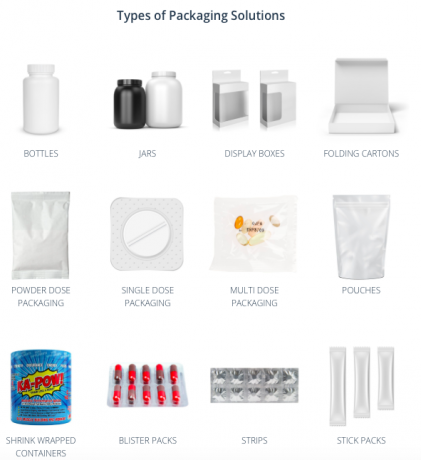 Vitamin and Supplement Packaging Experts